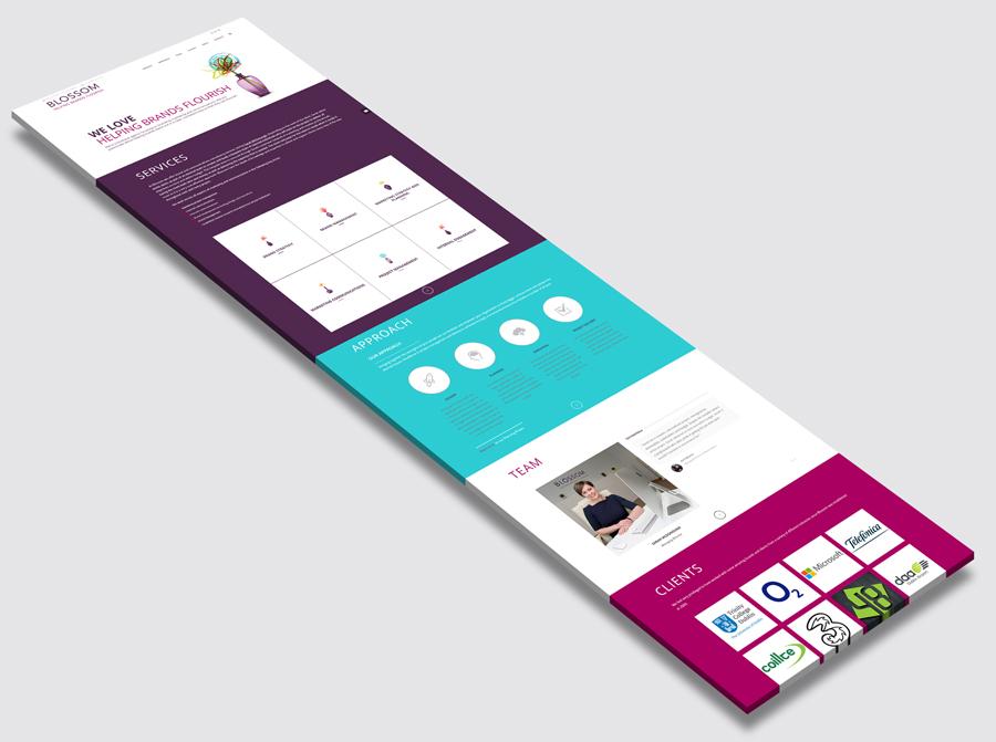Photic Design   Blossom Marketing Consultants Web Site